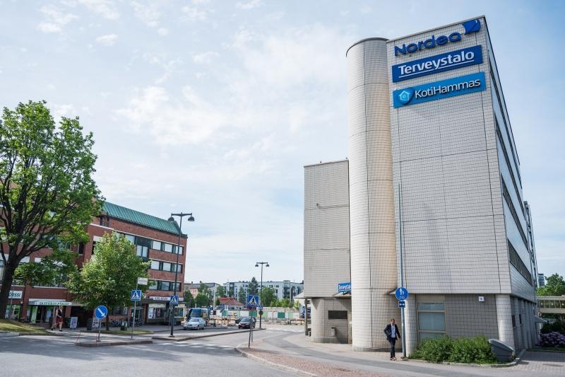 Hammaslääkärin vastaanotto Järvenpää